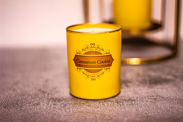 Lumânare Cinnamon Cookie 1