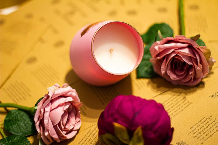 Lumânare Flori de Magnolie 2