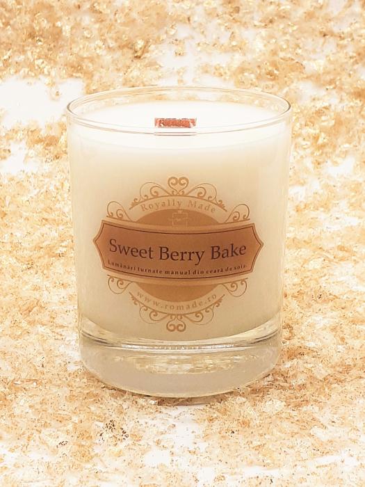 Lumânare Sweet Berry Bake 0