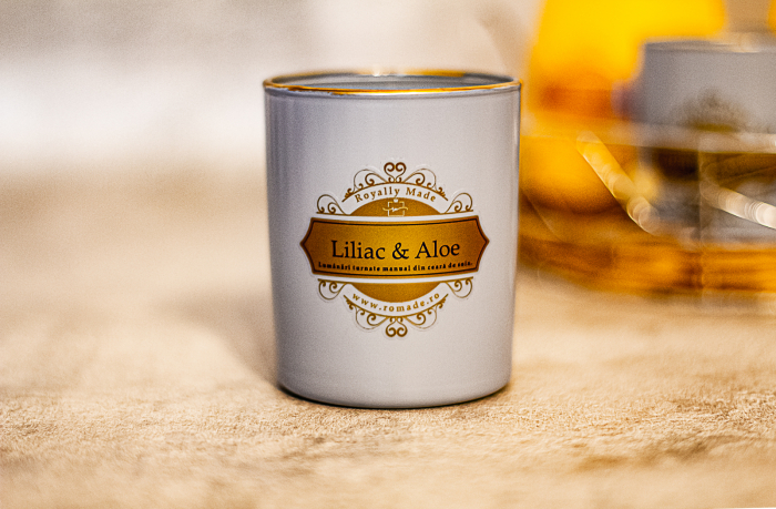 Lumânare Liliac & Aloe Vera 0