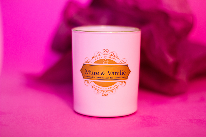 Lumânare Mure & Vanilie 0