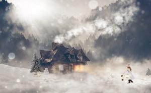 Lumânare Iarna în Țara Minunilor3