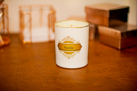 Lumânare Vanilie1
