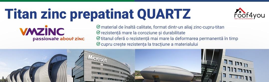 Titan zinc Quartz VMzinc