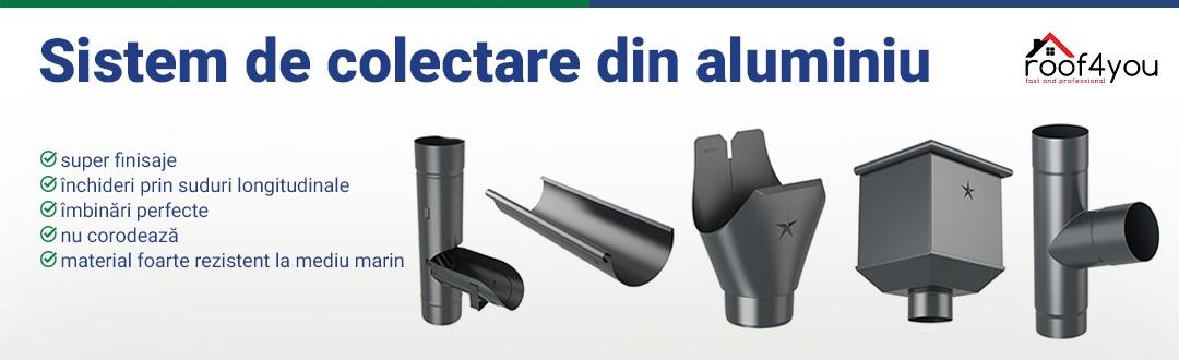 Sistem de colectare aluminiu