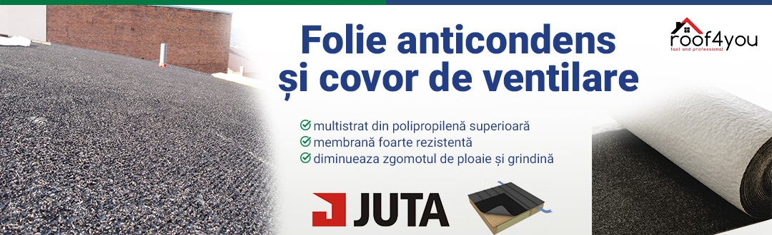 Folie anticondens JUTA