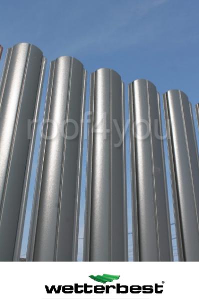 Şipcă de gard metalică, WETTERBEST, Zincat grosime 0.4 mm 0