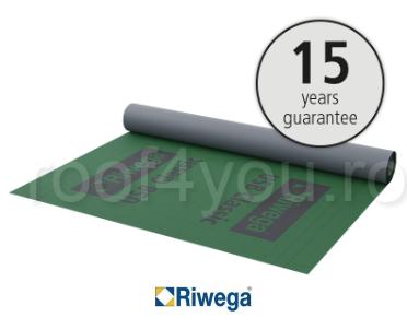 Membrana de difuzie pentru acoperis Riwega USB Classic 185 SK, 50x1.5=75mp 0