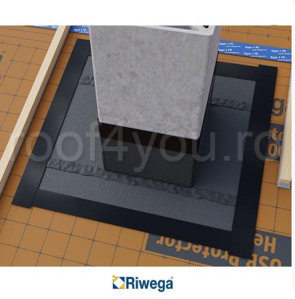 Membrana de difuzie pentru acoperis si fatade Riwega USB Fire Zero 720, 20x1.1=22mp 1