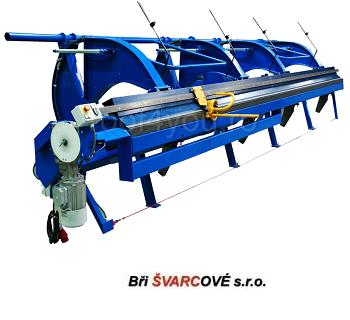Abkant electric lungime de lucru 6m / 0.8 mm DOH-6E Bri Svarcove 1