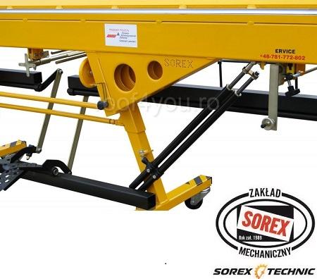 Abkant manual latime lucru 1.5 m / 0,8 mm ZRS 2660 Sorex 1