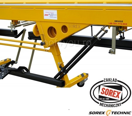 Abkant manual latime lucru 1.5 m / 0,8 mm ZRS 2660 Sorex 2