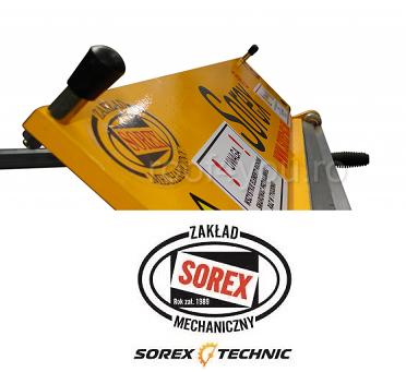 Abkant manual latime lucru 660 mm / 2.0 mm ZRS 660 Sorex 2