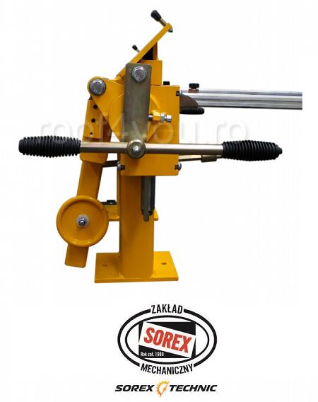 Abkant manual latime lucru 660 mm / 2.0 mm ZRS 660 Sorex 3