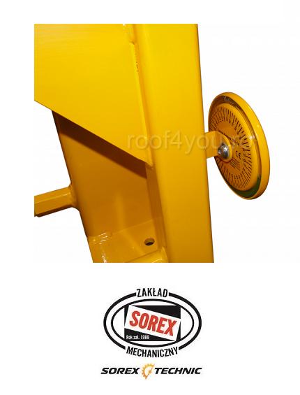 Abkant manual latime lucru 660 mm / 2.0 mm ZRS 660 Sorex 4
