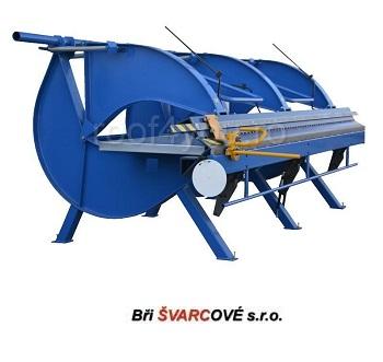 Abkant manual lungime de lucru 4m / 1,0 mm DOHh-4 Bri Svarcove 0