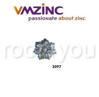 Accesorii stantate: rozete, VMZINC, diametru 100 mm, Model 3097 0