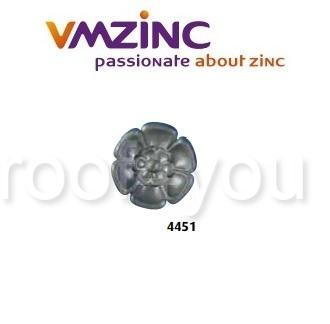 Accesorii stantate: rozete, VMZINC, diametru 160 mm, Model 4451 0