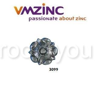 Accesorii stantate: rozete, VMZINC, diametru 160 mm, Model 3099 0