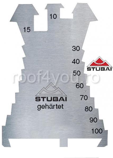Șablon Stubai, 'Fiechtl' 1,3 mm, hard, 140x100 mm 0