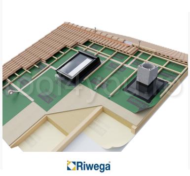 Membrana de difuzie pentru acoperis Riwega USB Classic 185 SK, 50x1.5=75mp 1
