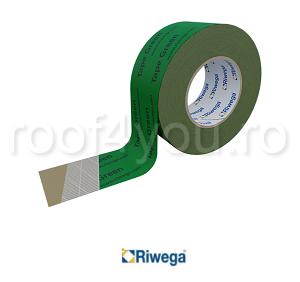Banda adeziva profesionala de etansare verde 50mm Riwega 0