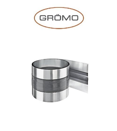 Banda dilatare jgheab 26cm / 3m, Titan Zinc natural Gromo [0]