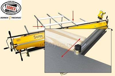 Bara suport  masa spate ZRS Sorex 5