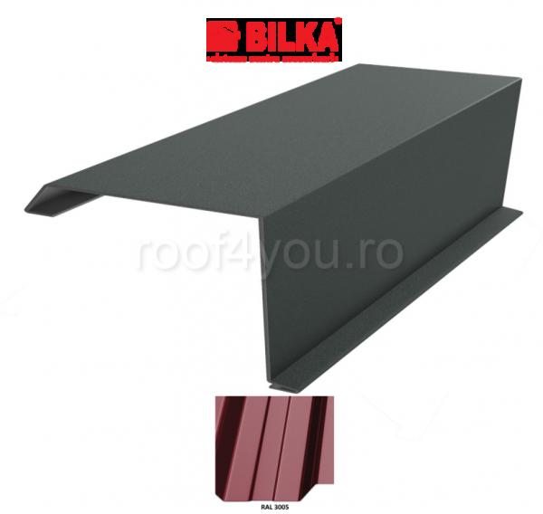 Bordura fronton industriala BILKA Lucios 0,5 mm / 250 mm / RAL 3005 0