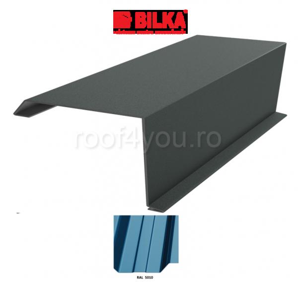 Bordura fronton industriala BILKA Lucios 0,5 mm / 250 mm / RAL 5010 0