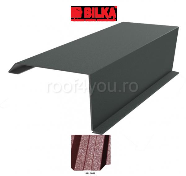 Bordura fronton industriala BILKA Grande Mat 0,5 mm / 360 mm / RAL 3005 0