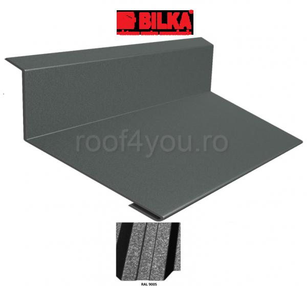 Bordura la perete industriala BILKA Grande Mat 0,5 mm / 178 mm / RAL 9005 0