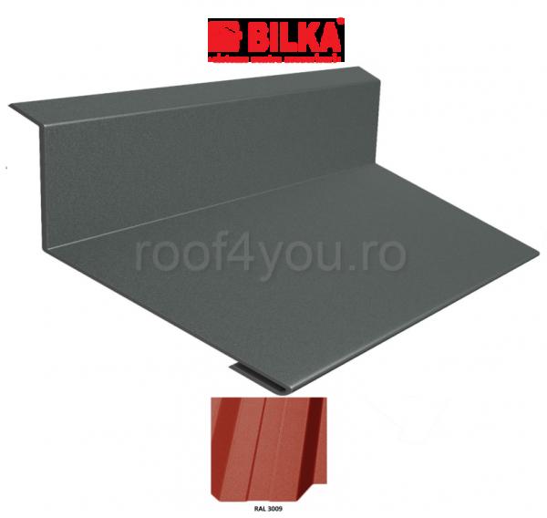 Bordura la perete industriala BILKA Mat 0,5 mm / 208 mm / RAL 3009 0