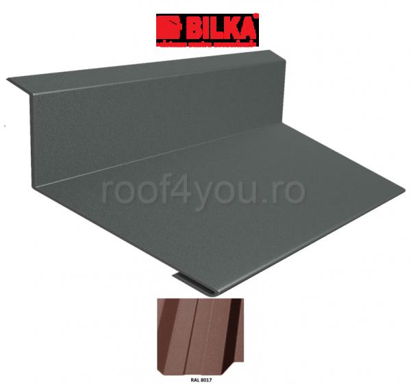 Bordura la perete industriala BILKA Mat 0,5 mm / 208 mm / RAL 8017 0