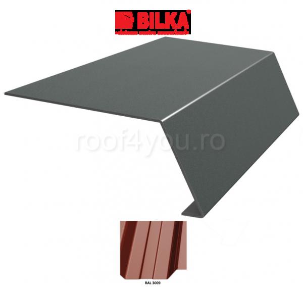 Bordura streasina industriala BILKA Lucios 0,5 mm / 156 mm / RAL 3009 0