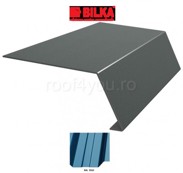 Bordura streasina industriala BILKA Lucios 0,5 mm / 178 mm / RAL 5010 0