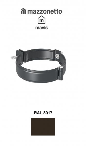Bratara Burlan rotund Ø100, Otel Mazzonetto Mavis, RAL 8017 [0]