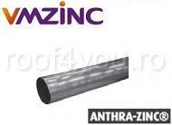 Burlan circular Ø100 din titan zinc Anthra Vmzinc 0