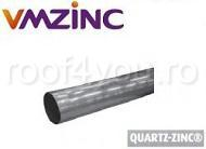 Burlan circular Ø120 din titan zinc Quartz Vmzinc 1