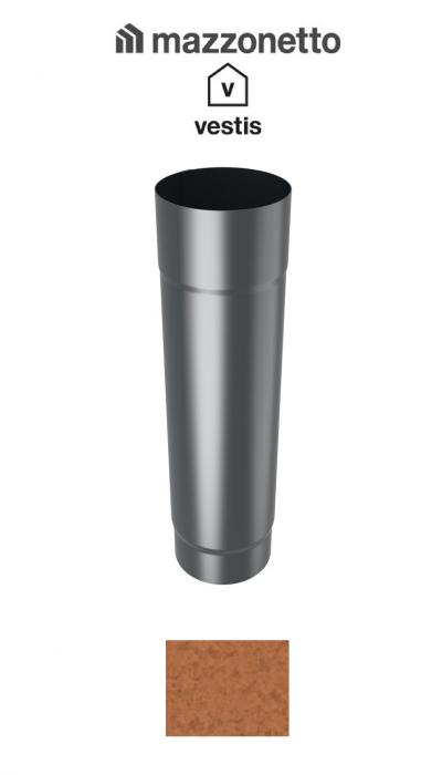 Burlan rotund Ø100 ( 2-3-m), Aluminiu Mazzonetto Vestis, RAL Copper [0]