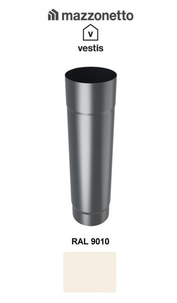 Burlan rotund Ø100 ( 2-3-m), Aluminiu Mazzonetto Vestis, RAL 9010 [0]