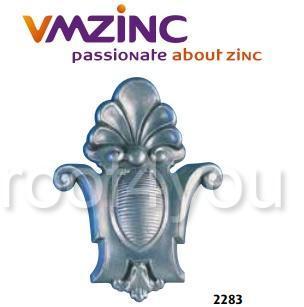 "Cheie pentru ferestrele ""bull's eyes"" si lucarna standard VMZINC, inaltime 500 mm, latime 355 mm, Model 2283 0"
