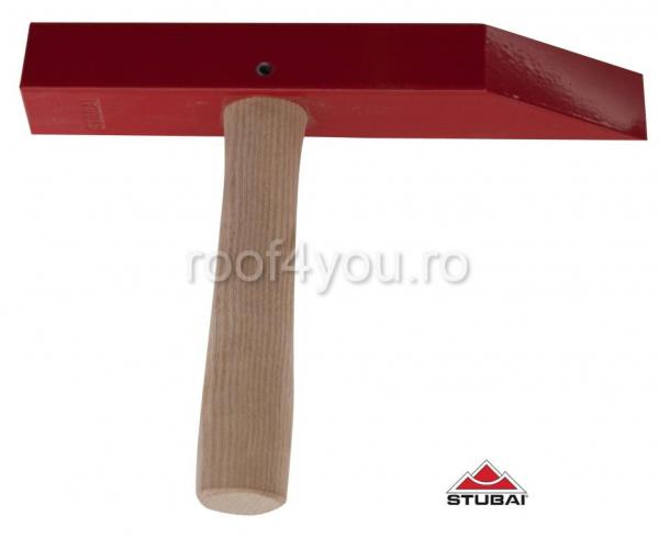 Ciocan de fălțuire cu mâner de lemn 260mm [0]