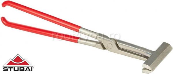 Clește de prindere cu articulație suprapusa, Nirolook 200mm 0
