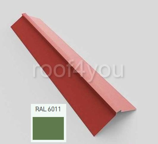 Coamă dreaptă mare CDMA, Lucios WETTERBEST, grosime 0.35 mm, RAL 6011 0