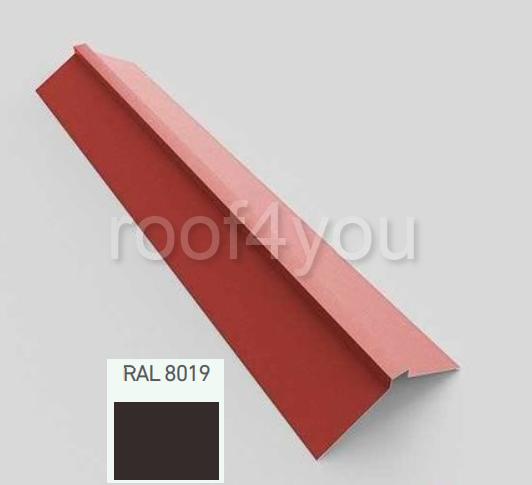 Coamă dreaptă mare CDMA, Mat WETTERBEST, grosime 0.4 mm, RAL 8019 0