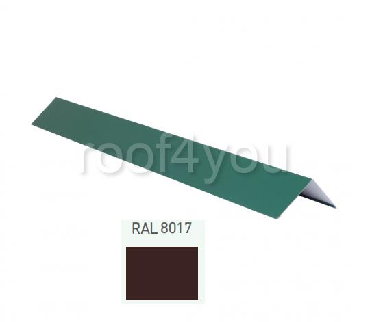 Coamă dreaptă mică CDMI, Mat WETTERBEST, grosime 0.5 mm, RAL 8017 0