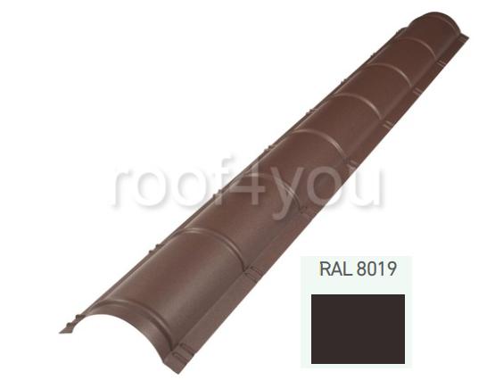 Coamă rotundă mare CRMA, Neomat 30 WETTERBEST, grosime 0.5 mm, RAL 8019 0