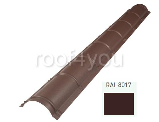Coamă rotundă mare CRMA, Suprem 50 WETTERBEST, grosime 0.5 mm, RAL 8017 0
