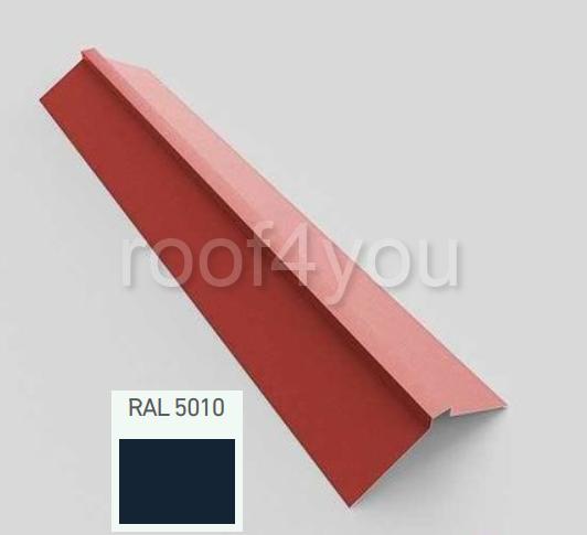 Coamă dreaptă mare CDMA, Lucios WETTERBEST, grosime 0.45 mm, RAL 5010 0